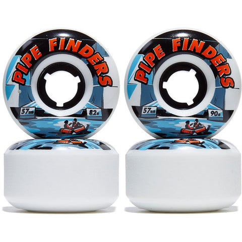 Venom Pipe Finders 57mm skateboard longboard wheel
