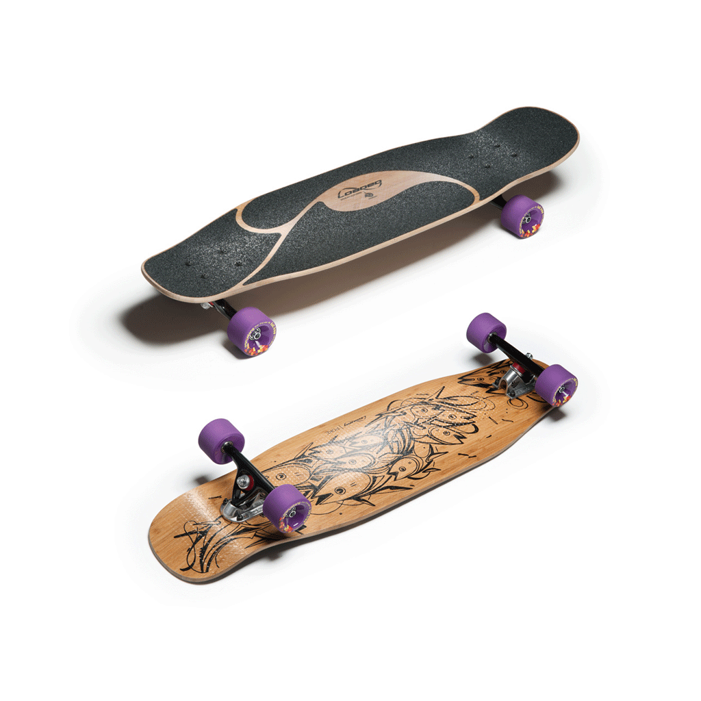 Loaded Poke skateboard longboard favourite setup