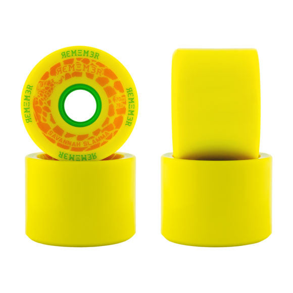 Remember Collective Savannah Slamma 70mm longboard wheels