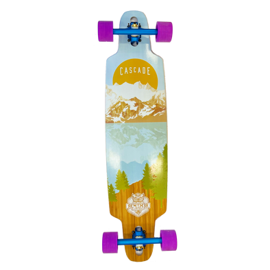Remember Collective Cascade 37 inch drop thru longboard complete