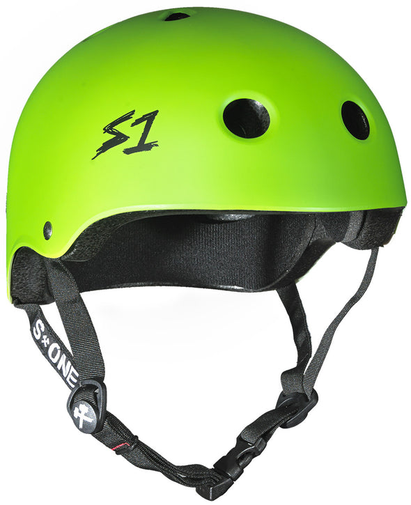 S1 Lifer Helmet in Bright Green Matt