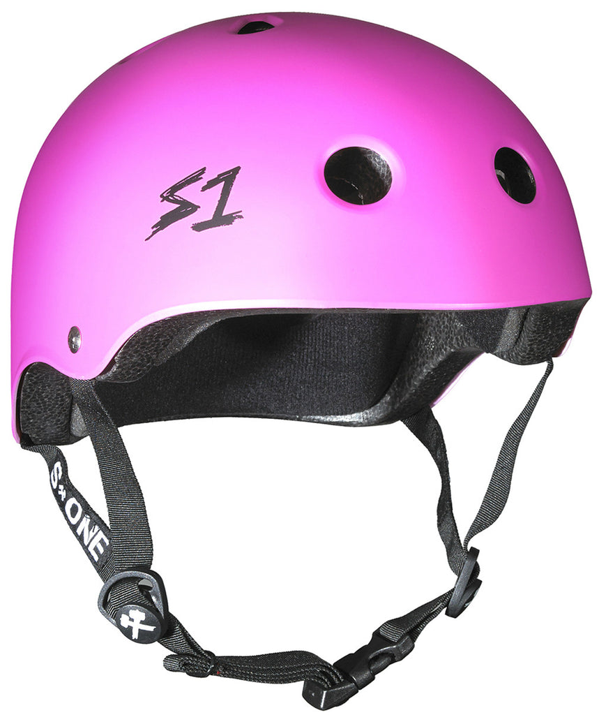 S1 Lifer Helmet in Hot Pink