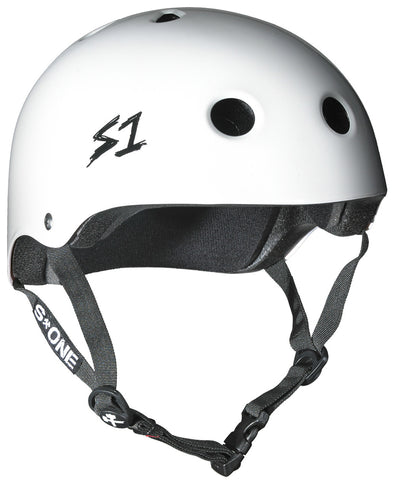 S1 Lifer Helmet in White Gloss