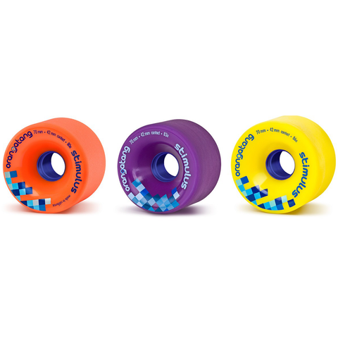 Orangatang Stimulus 70mm freeride slide wheels