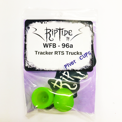 RipTide 96a Tracker RTS skateboard truck pivot cups