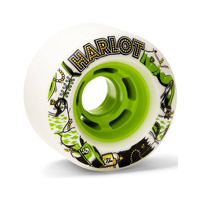 Venom Harlots 72mm 80a freeride wheels