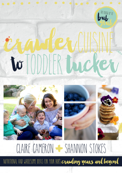 Crawler Cuisine to Toddler Tucker eBook