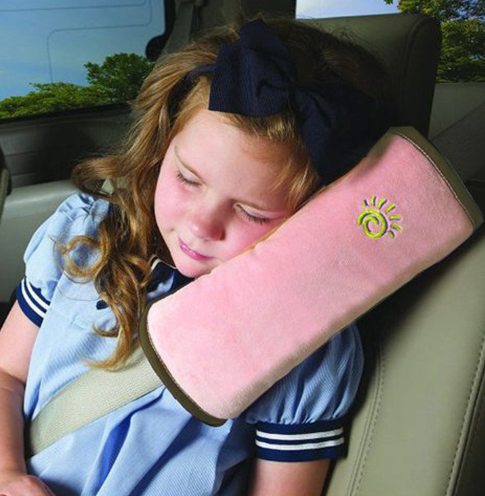 Kid Car Pillows Auto Safety Seat Belt Vehicle Shoulder Cushion Pad Child Protection Support Pillow For Kids - Factory 46