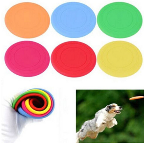 Fantastic Pet Dog Flying Disc Tooth Resistant Training Toy Play Frisbee - Factory 46