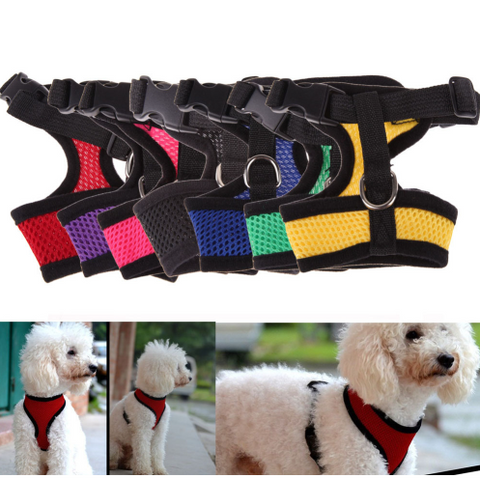 Adjustable Comfort Soft Breathable Dog Harness - Factory 46