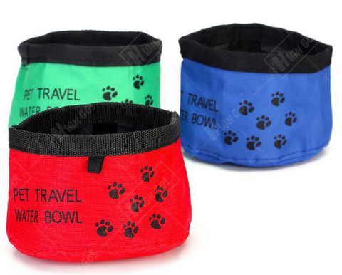 Oxford Cloth Waterproof Portable Dog Bowl Pet Travel Bowl Pet Folding Bowl - Factory 46