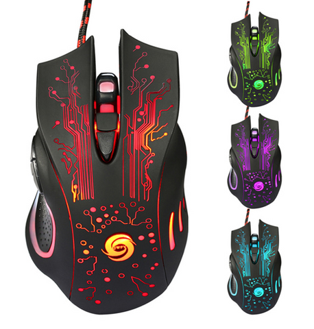 3200DPI LED Optical 6D USB Wired Gaming Game Mouse Pro Gamer Computer Mice For PC High Quality - Factory 46