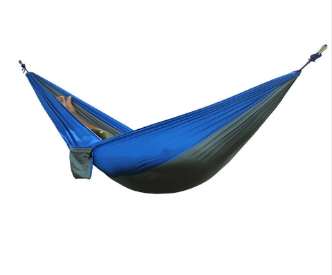2 People Portable Parachute Hammock Camping Survival Garden Flyknit Hunting Leisure  Travel Double Person Hammock