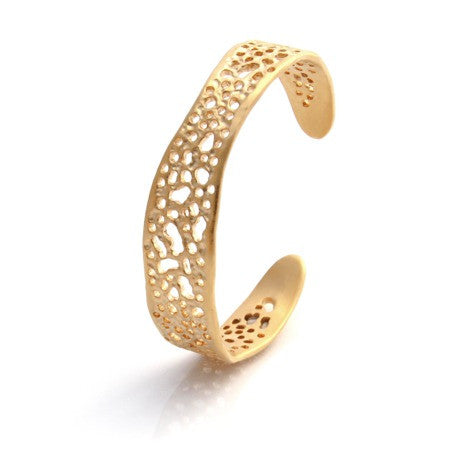 Louise Douglas Jewellery - Gold Lace Cuff