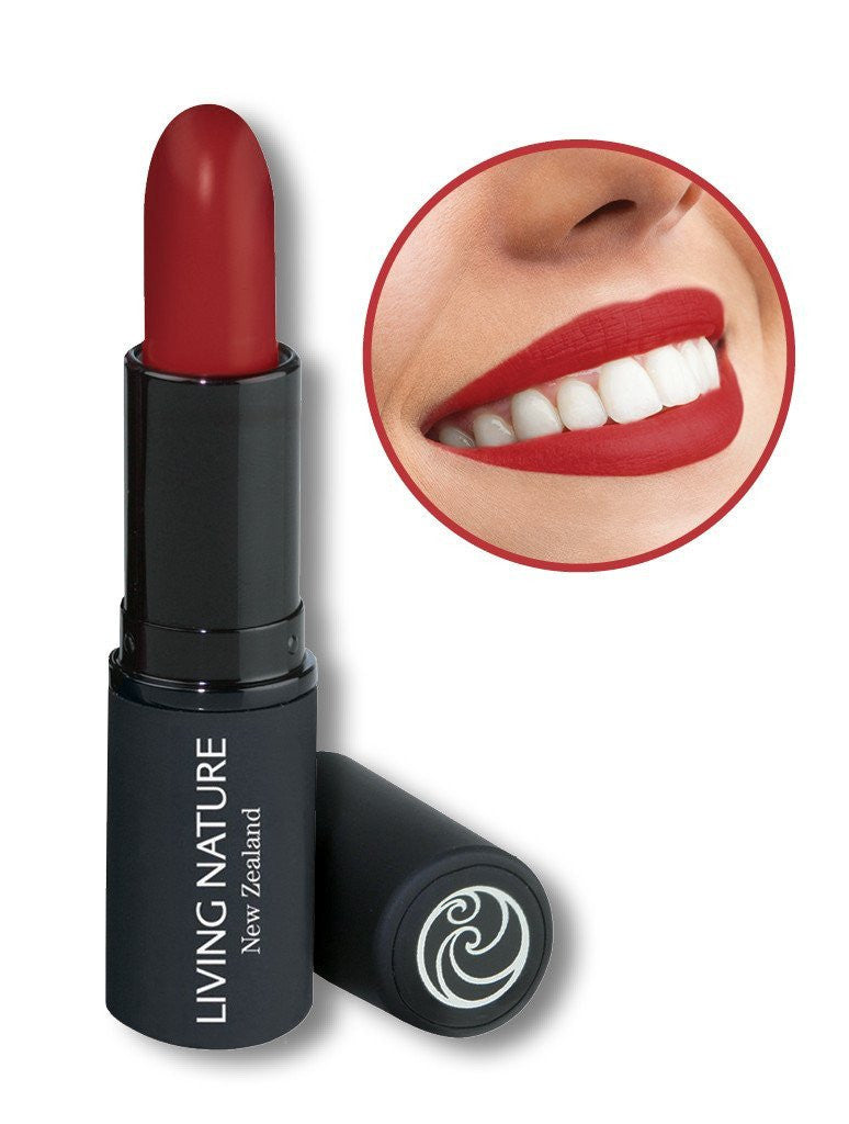 Living Nature Natural Organic Lipstick - Wild Fire 11