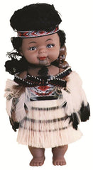 Parrs Maori Wahine Doll with Baby - 20cm