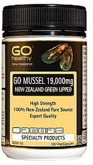 GO Healthy Mussel 19,000mg 100 Vcaps