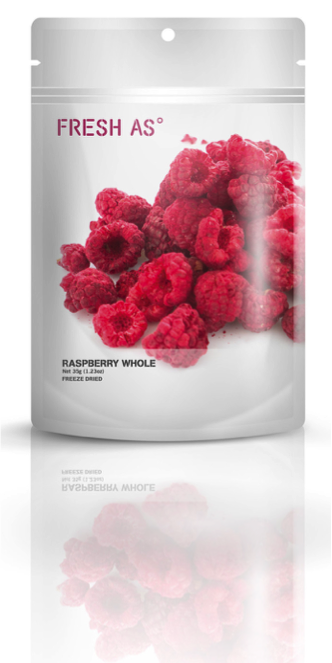 Fresh As Raspberry Whole - freeze dried 35g