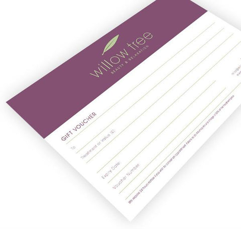 Willow Tree Image Skincare Facial Voucher