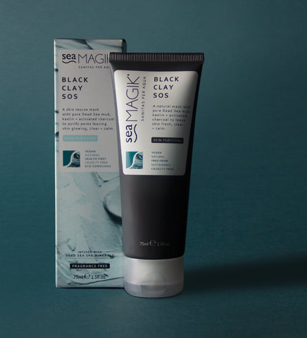 Sea Magik Black Clay SOS Mask 75ml