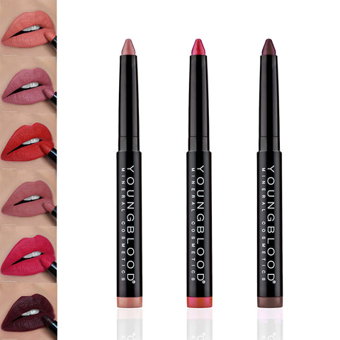 Youngblood Colour-Crays Matte Lip Crayons