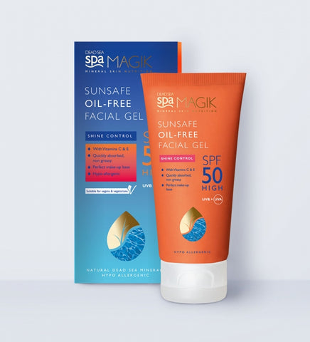 Dead Sea Spa Magik Sunsafe Oil-Free Facial Gel SPF50 50ml