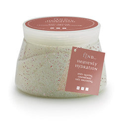 Spa Find Renewed Radiance Cranberry Salt Brushing