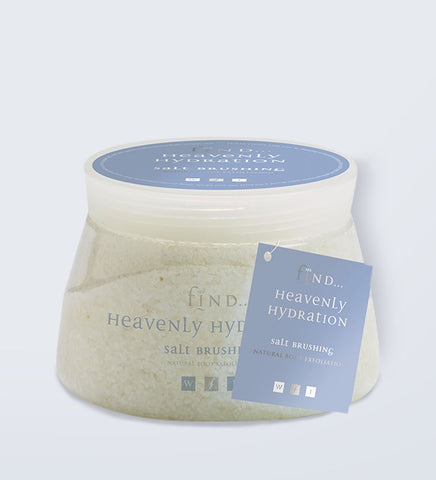 Spa Find Heavenly Hydration Salt Brushing 500g