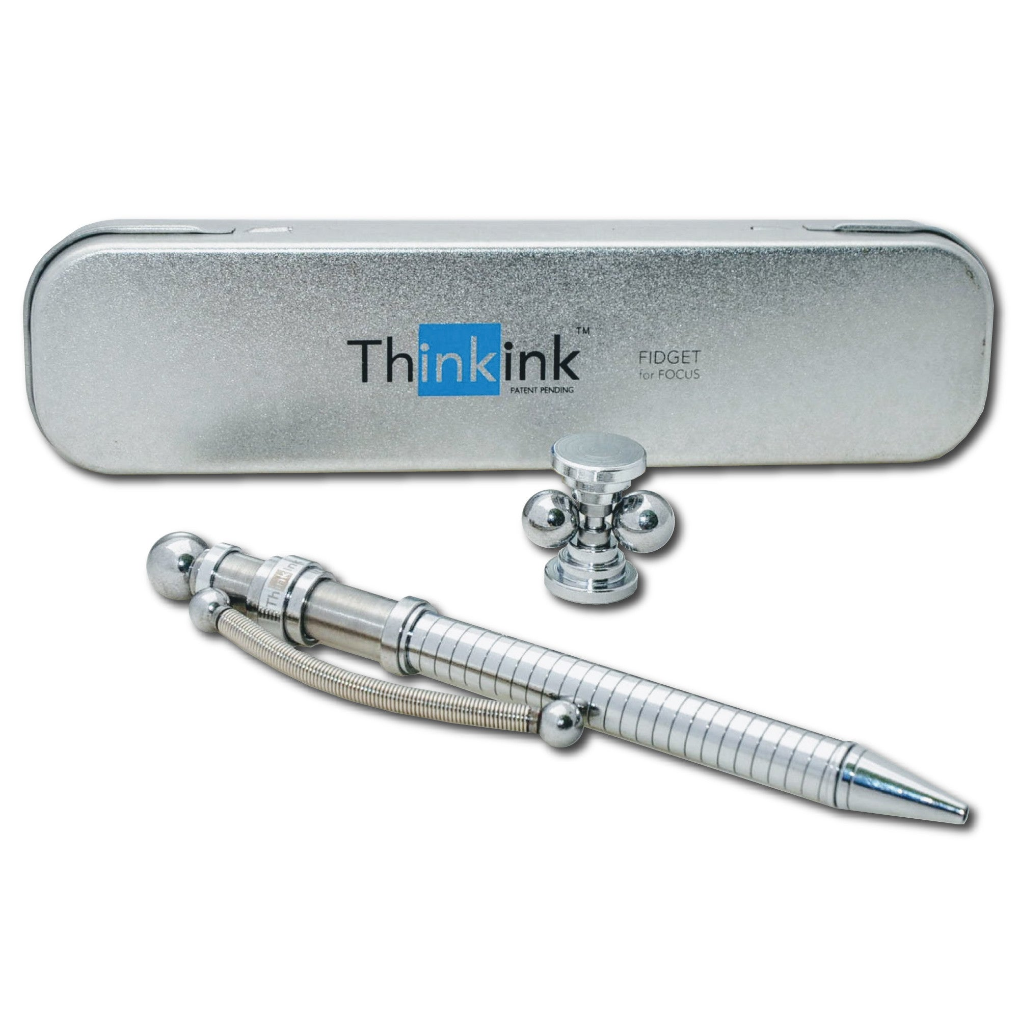 3 Think Ink Pen Bonus Desk Toy FREE Domestic Shipping