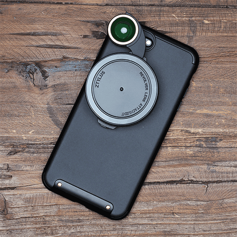 ZTYLUS REVOLVER LENS CAMERA KIT FOR IPHONE 7 / 7 PLUS / 6 / 6 PLUS /SE