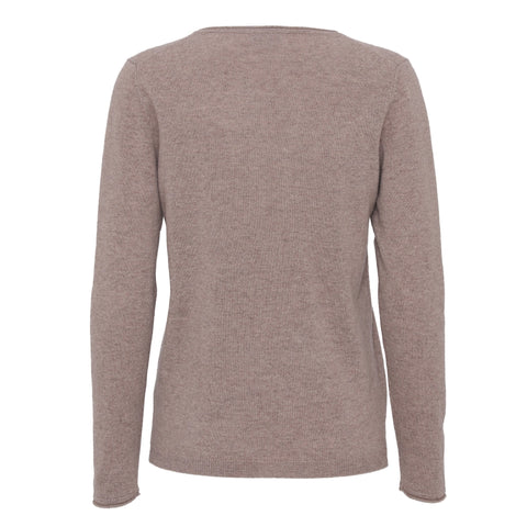 NEWS Cashmere sweater - Camel melange