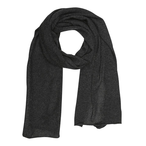 Large cashmere scarf - Light brown