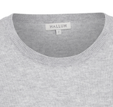 NEWS Silk/Cashmere t-shirt - Birch melange