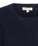 NEWS Cashmere cardigan - Navy blue