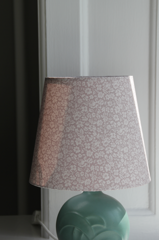 Silk lamp shade
