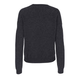 Cashmere V-neck sweater - Antracite