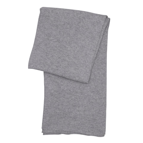 Cashmere throw - Light grey