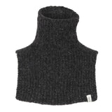 Wool Neck Warmer - Dark grey