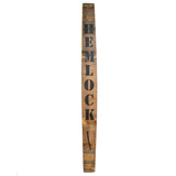 HEMLOCK Wine Barrel Stave - Staving Artist Woodwork