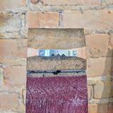 Custom Painted Wine Barrel Sign - Staving Artist Woodwork
