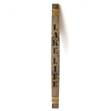 LAKE LIFE Wine Barrel Stave - Staving Artist Woodwork