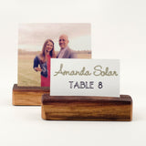 Place Card Holder / Photo Holder - Staving Artist Woodwork