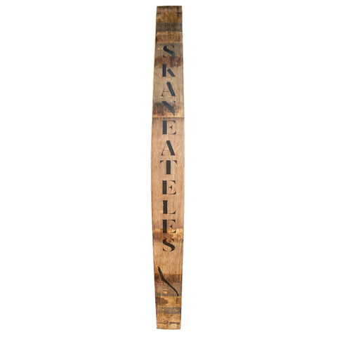 SKANEATELES Wine Barrel Stave - Staving Artist Woodwork
