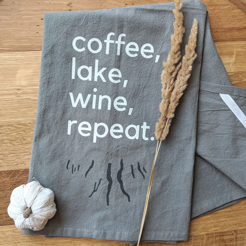 Flour Sack Tea Towel - Staving Artist Woodwork