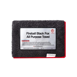Black Fox All Purpose Towel - Foamee