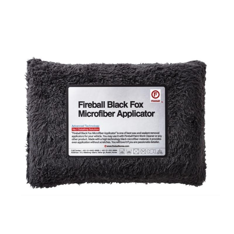 Black Fox Microfibre Applicator - Foamee