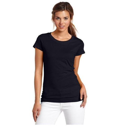 Basic Black Cotton T-Shirt