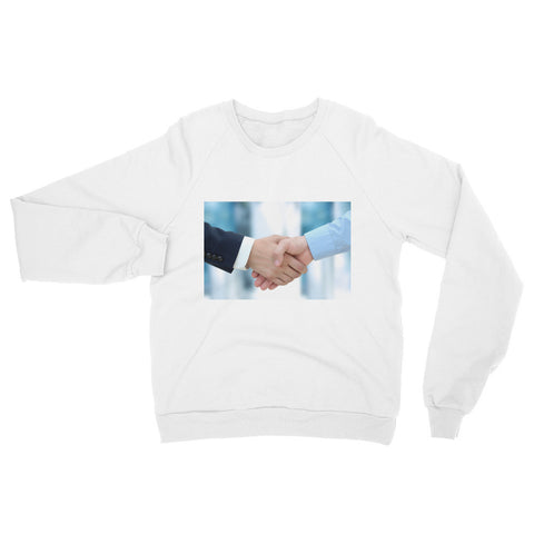 Firm handshake between business associates (Sweatshirt)