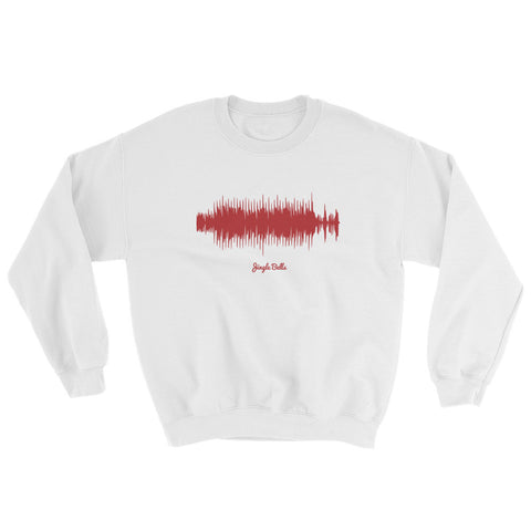 Jingle Bells Waveform (White Christmas Sweater)