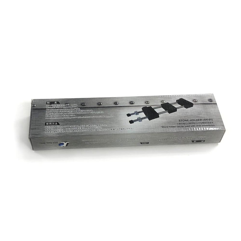Dual Sided Diamond Sharpening Stone with Stone Holder